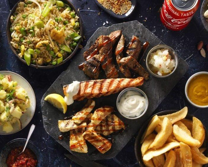 Special Beef Chicken Zalm